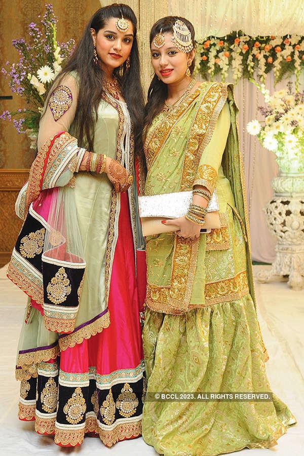 Nabeel and Maria's wedding reception