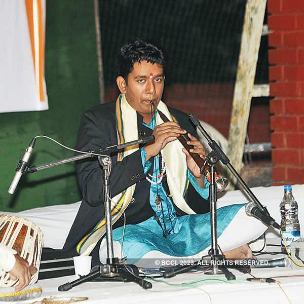 Bhasker Nath's shehnai recital