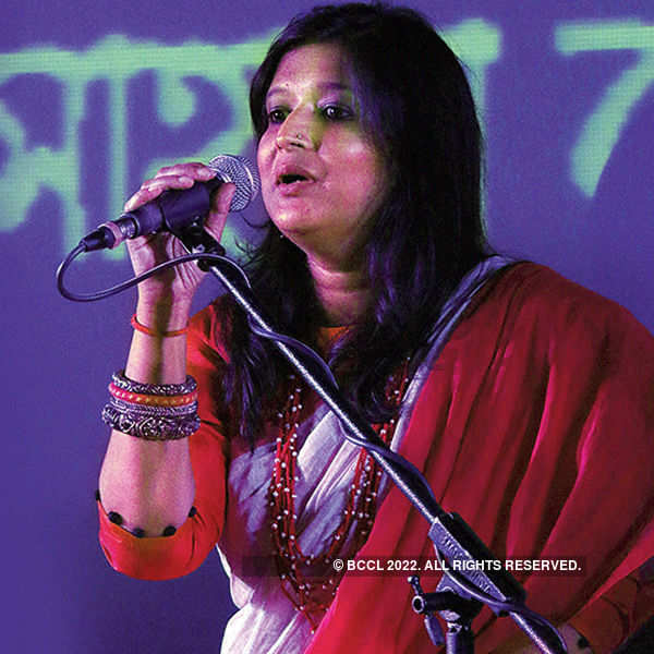 Sahana Bajpaie's folk album launch