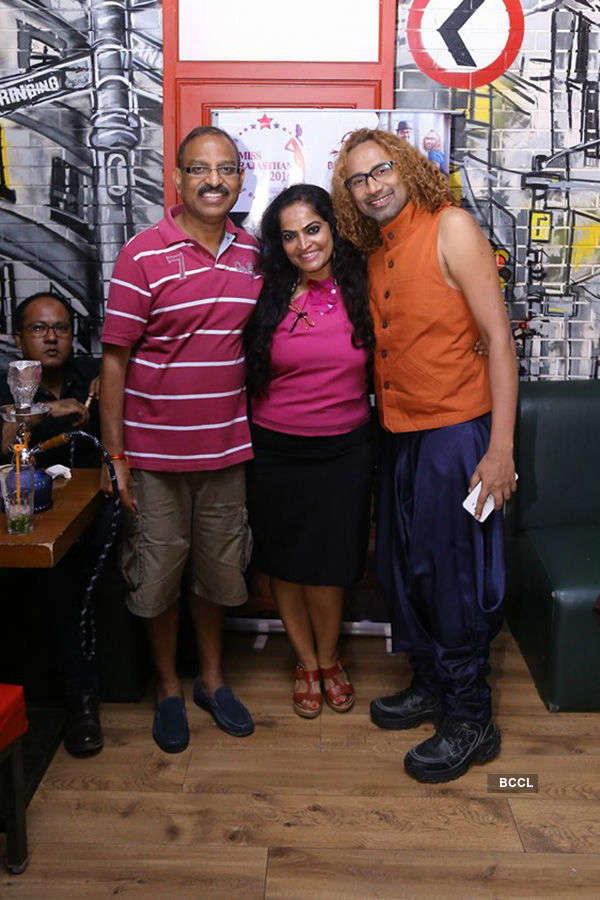 Aman Sinha's b'day party