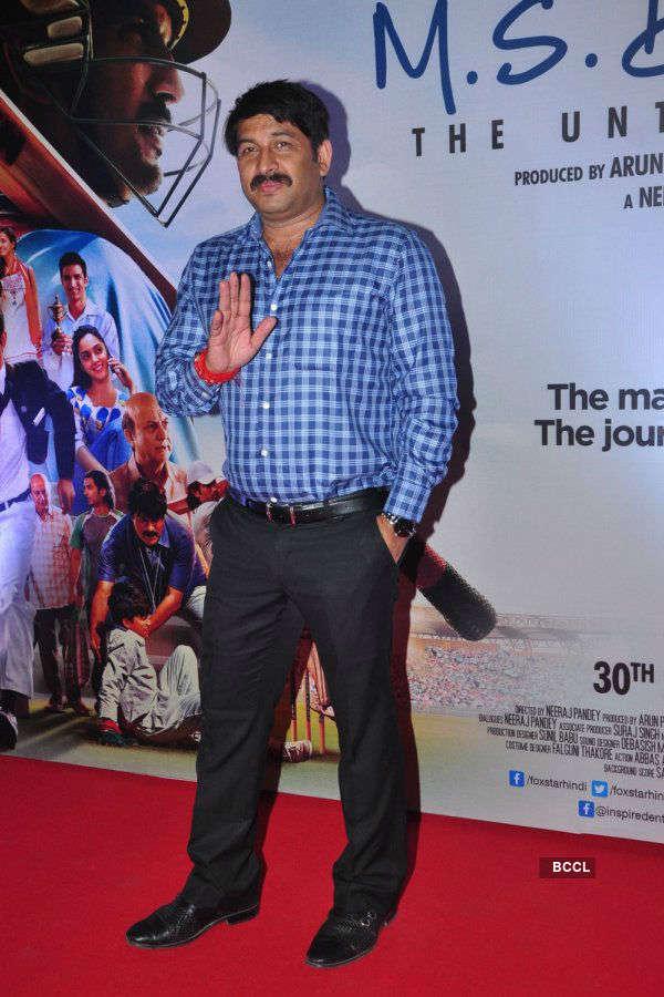 M.S. Dhoni: The Untold Story: Premiere
