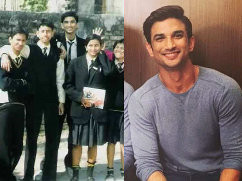   Here's how Sushant Singh Rajput looked during his school days