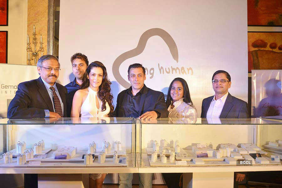 Salman at Being Human Jewelery launch