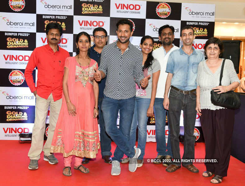 Terence, Madhu @ Times Shopping Festival