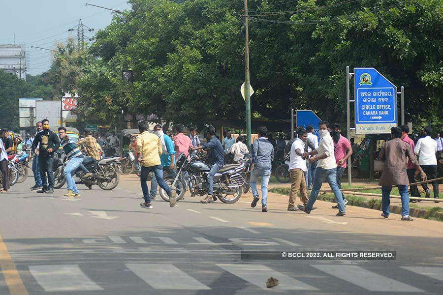 ABVP protest against Kanhaiya Kumar