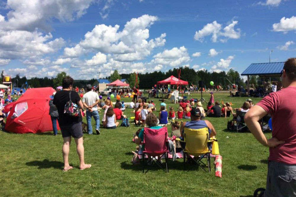 Play at Whitecourt's Rotary Park