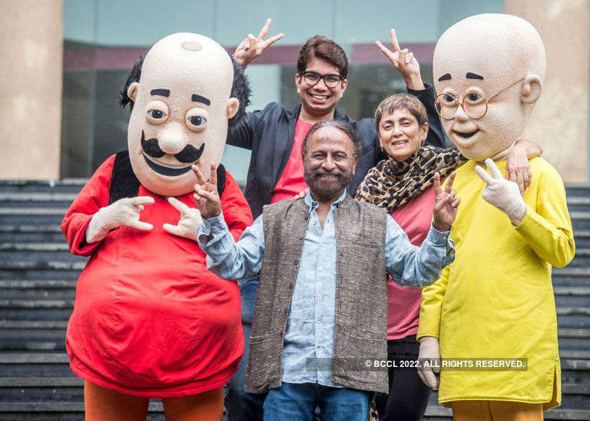 Motu Patlu: Movie Photoshoot