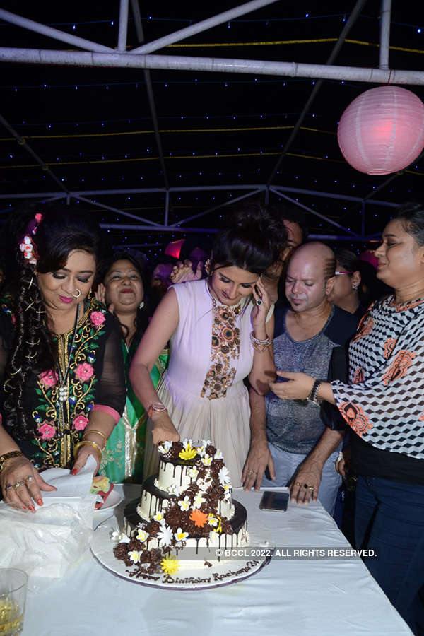 Celebs @ Rachna's b'day party