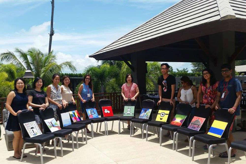 Take an art class at Oasis Ed. Phuket