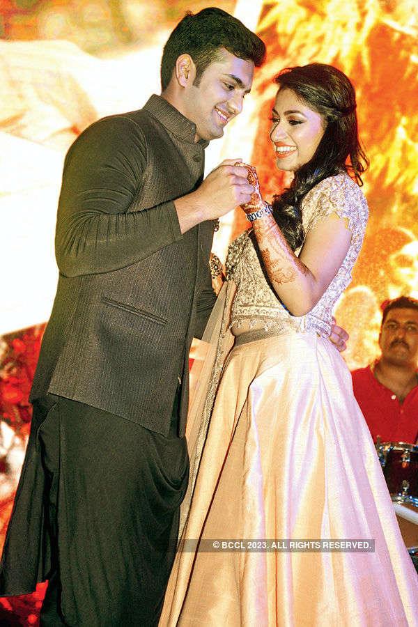 Heena and Mohit's roka ceremony