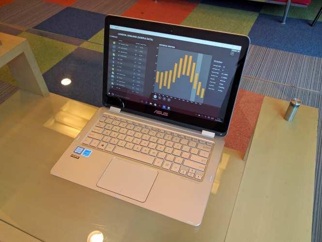Asus ZenBook Flip UX360CA review: Design trumps everything