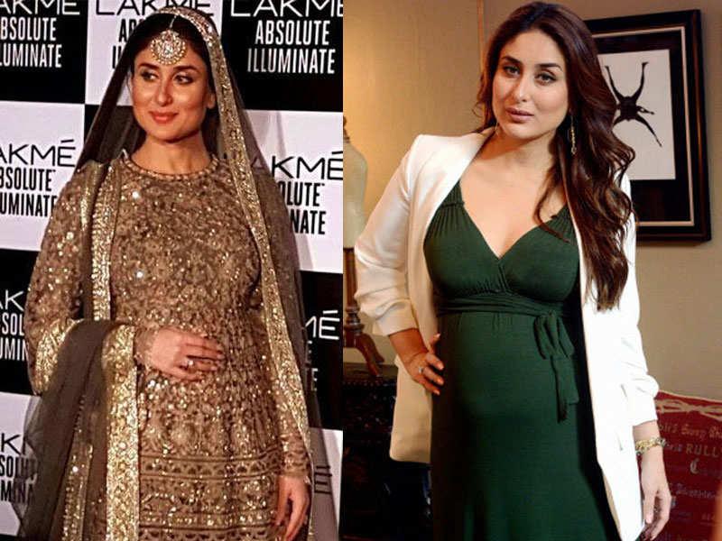 Kareena Kapoor's maternity style files