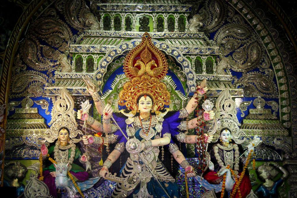 Ranihaat Puja Pandal