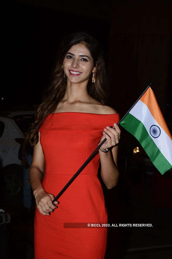 Pankhuri Gidwani leaves for Miss Grand International 2016