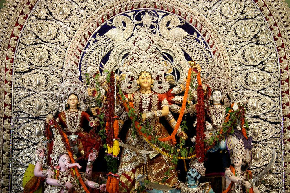Chandni Chowk Puja Pandal