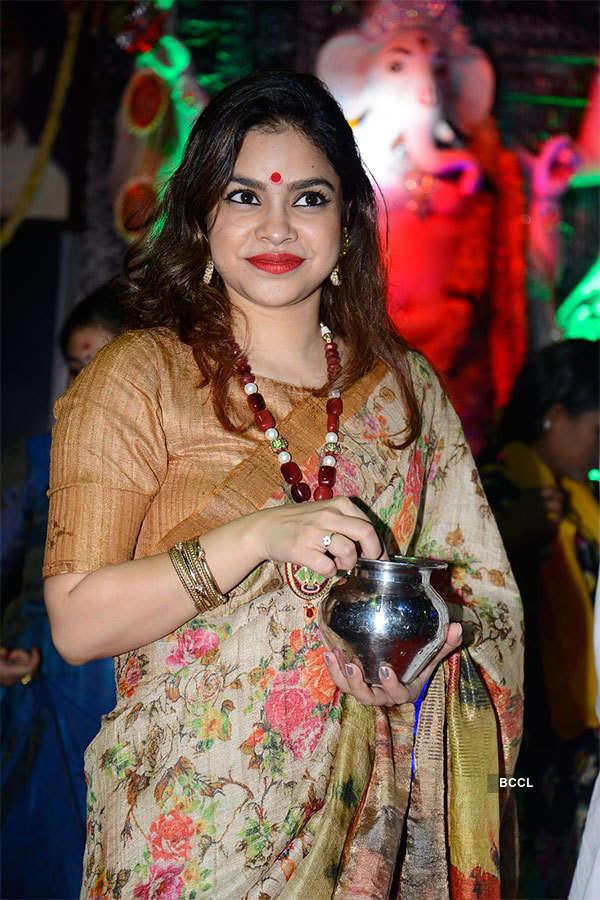 Celebs celebrate Durga Puja