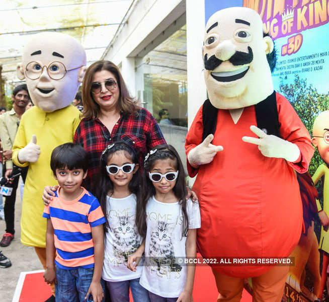 Motu Patlu: Screening