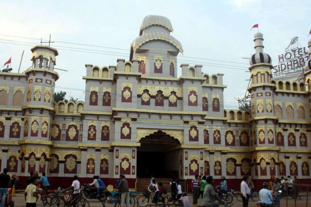 Nayapalli Puja Pandal