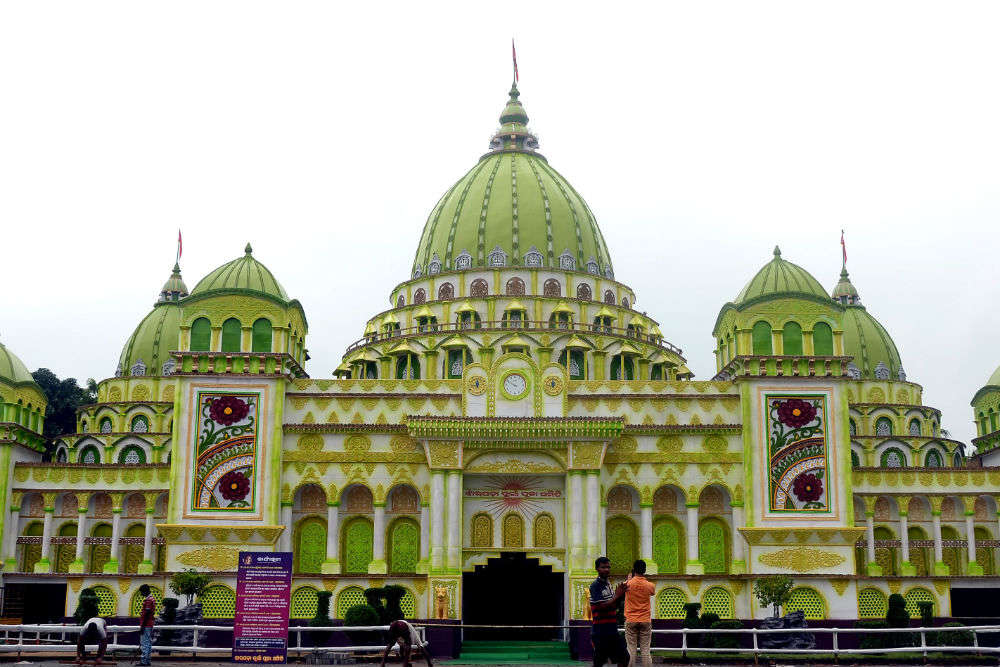  Jharpada Puja Pandal