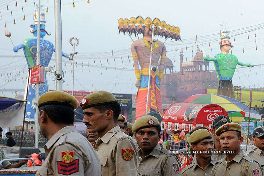 Nation celebrates Dussehra