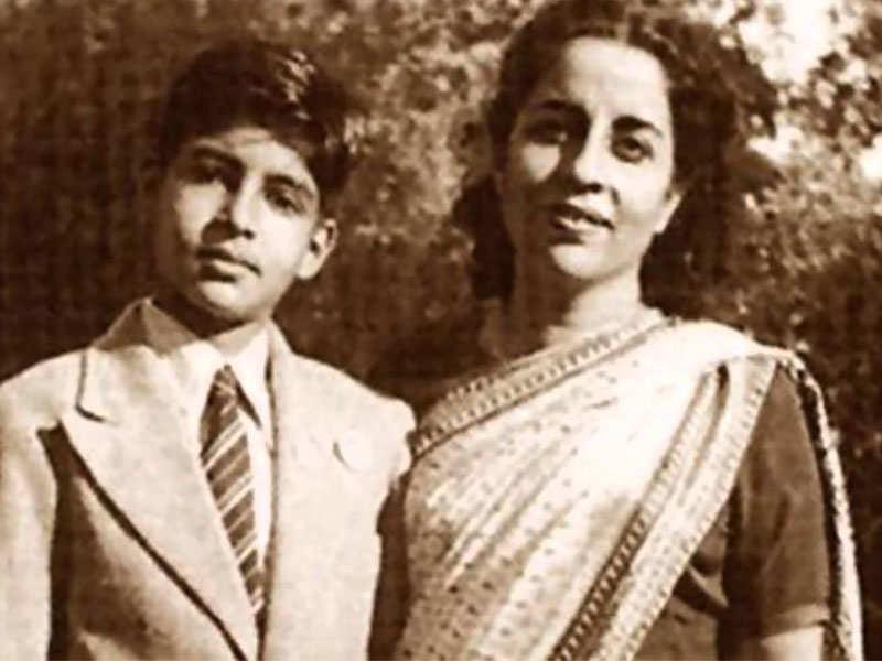 Then and now: Amitabh Bachchan as a school boy