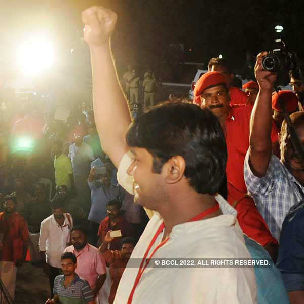 Kanhaiya addresses AIYF state conference