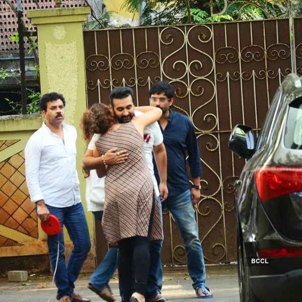 Shilpa Shetty's father's funeral