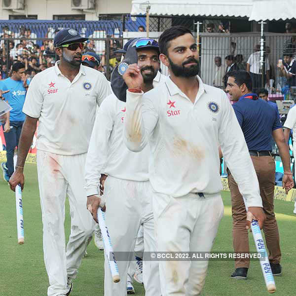 India win third New Zealand Test