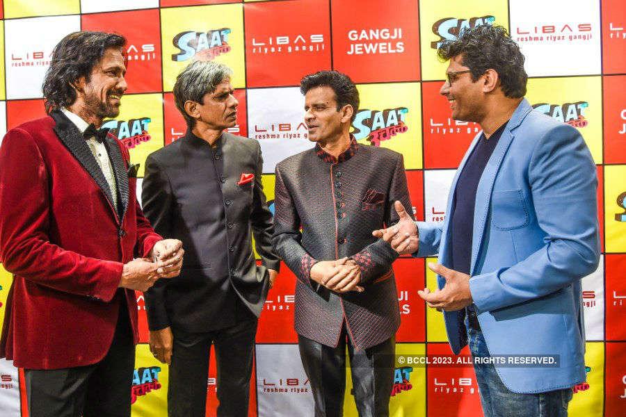 Saat Uchakkey team @ Riyaz Gangji's collection launch