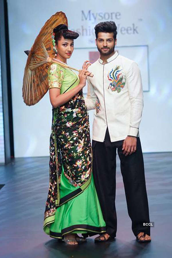 Rahul Rajasekharan at  Mysore Fashion Week
