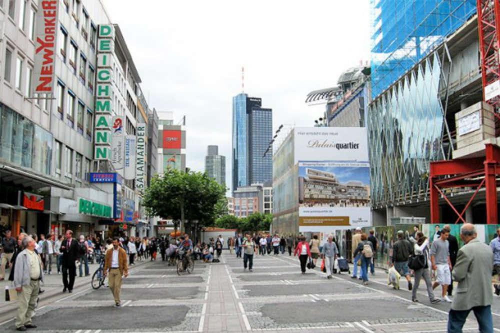 Shopping street Zeil
