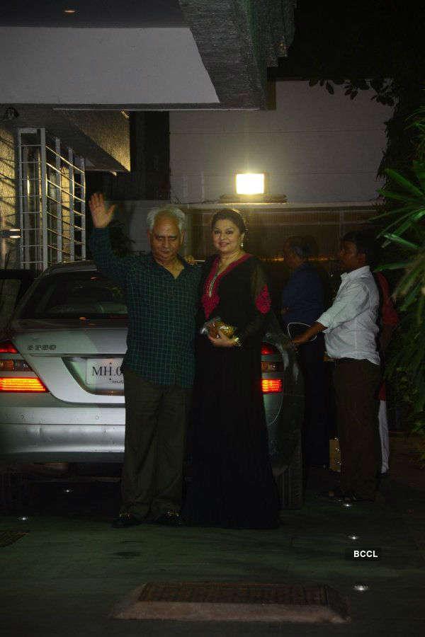 Hema Malini's birthday celebration