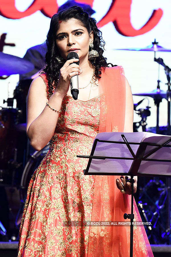 Chinmayi's live concert