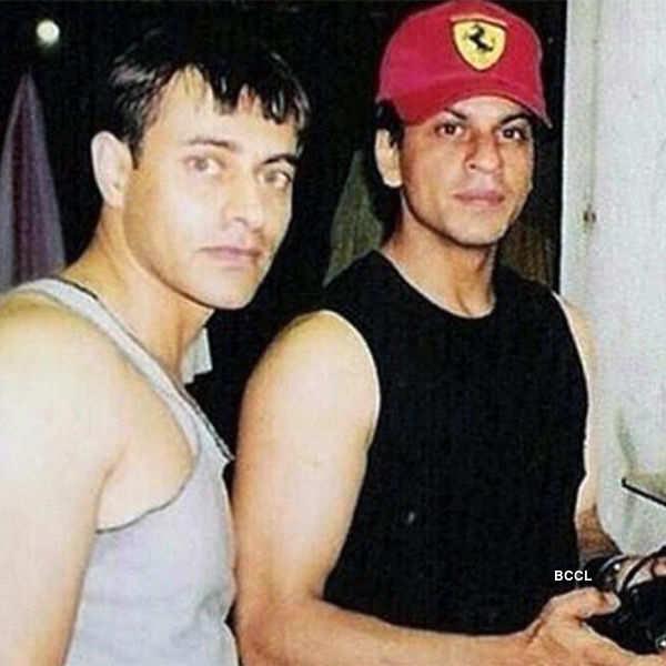 Rare pic of Shah Rukh Khan and Vikrant Chibber