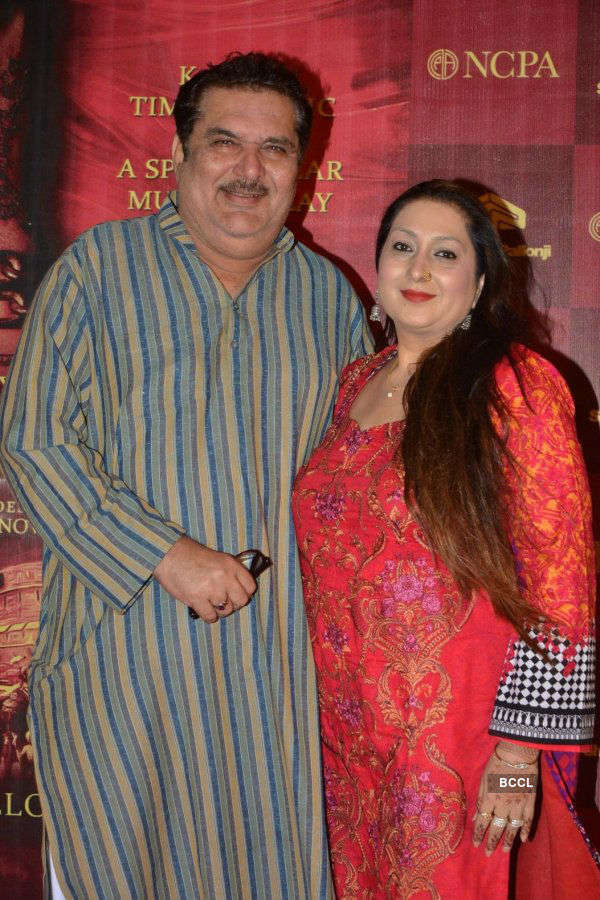 Musical play Mughal-E-Azam:Red carpet