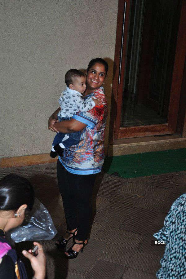 Sanjay Dutt celebrates his son's birthday