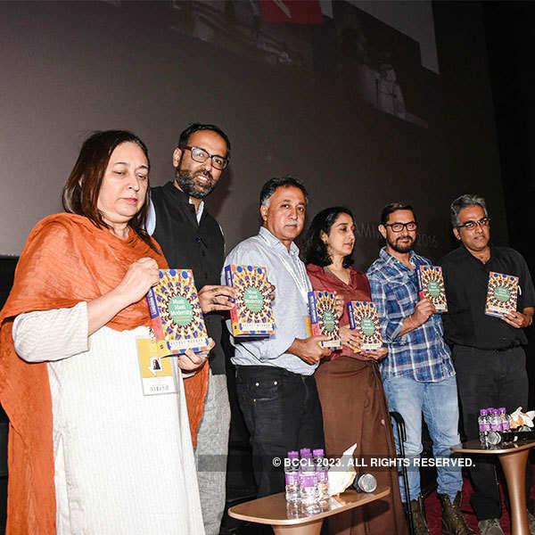 Aamir Khan @ Book launch
