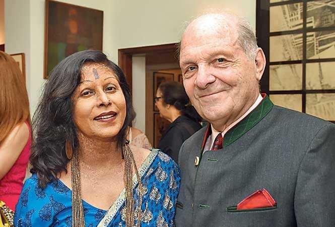 Shovana Narayan and Herbert Traxl (BCCL)