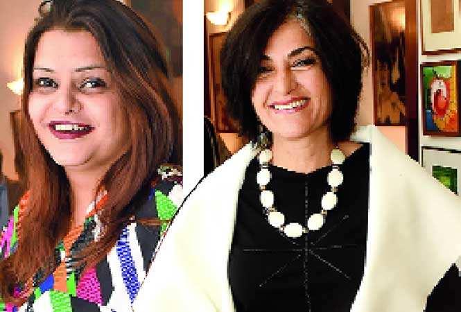 Advaita Kala (L) and Ambika Shukla (BCCL)