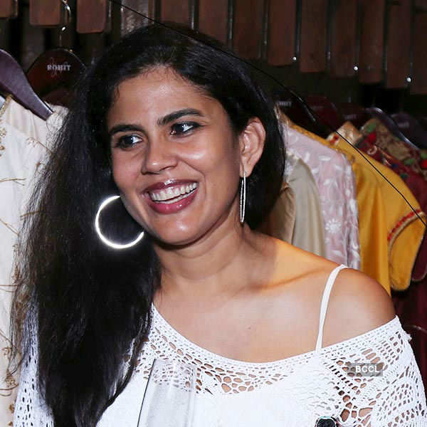 Seema Mehta Is All Smiles During The Launch Of Rohit Bal Crystal Store At Palladium In Mumbai Photogallery