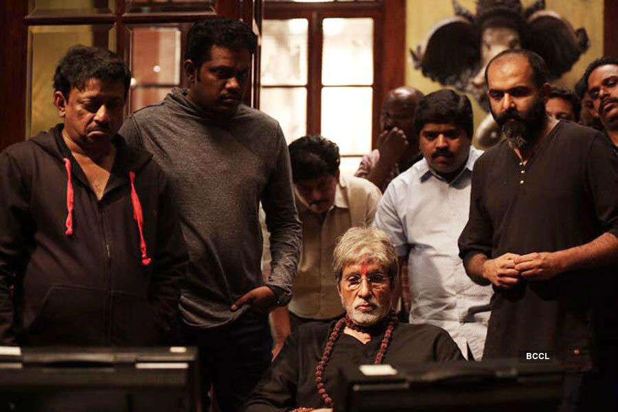 Big B smitten by 'Sarkar 3' DOP