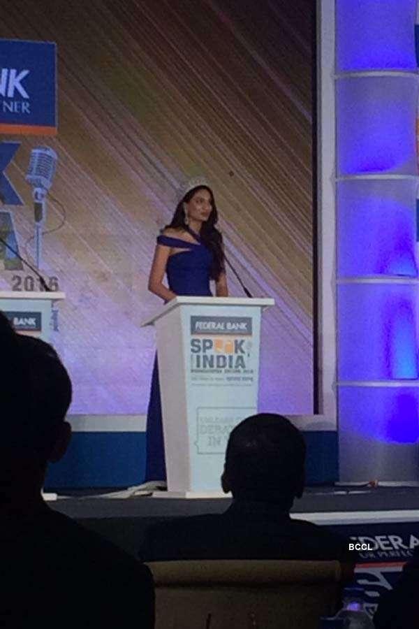 Roshmitha Harimurthy at Speak for India's Maharashtra edition