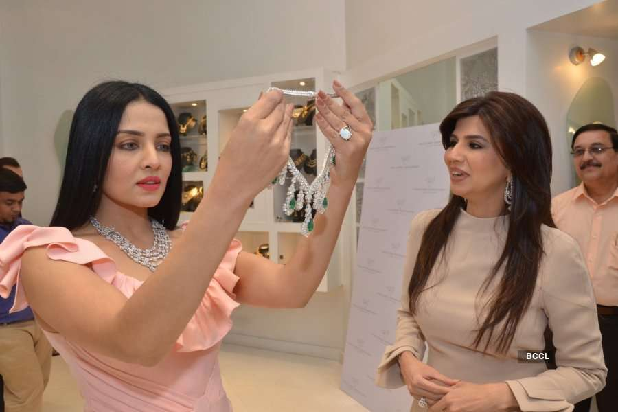 Paulomi Sanghavi's jewellery collection launch