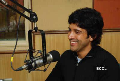 Farhan at Radio