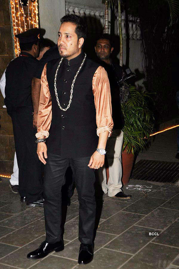 Big B's Diwali party