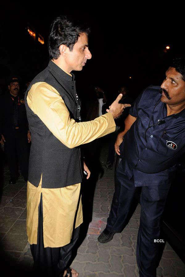Big B's Diwali party