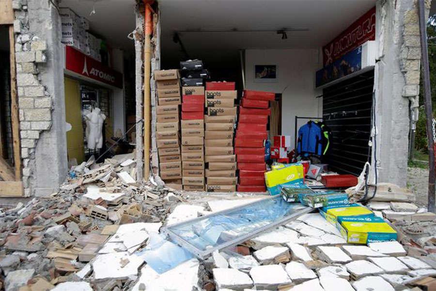 Italy earthquake leaves thousands homeless