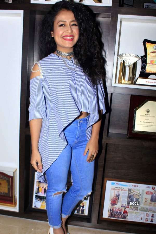 Neha Kakkar performs at 'The Regency Antilia'