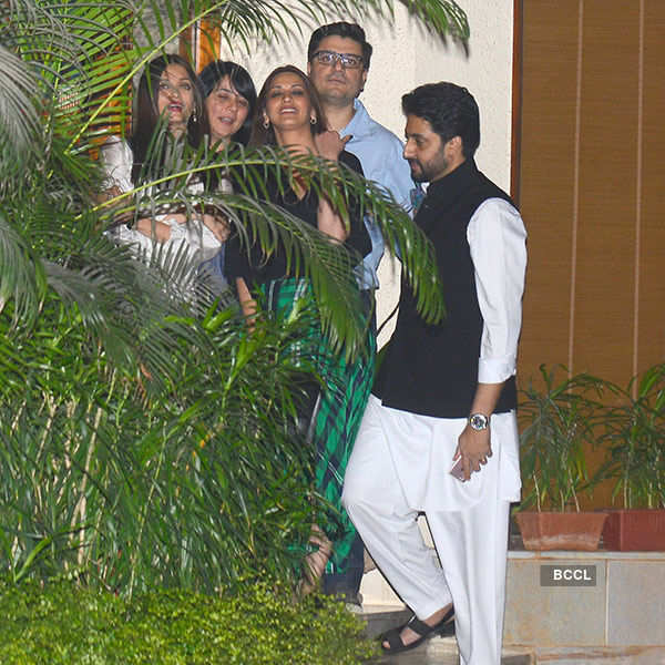 Aishwarya Rai's b'day party