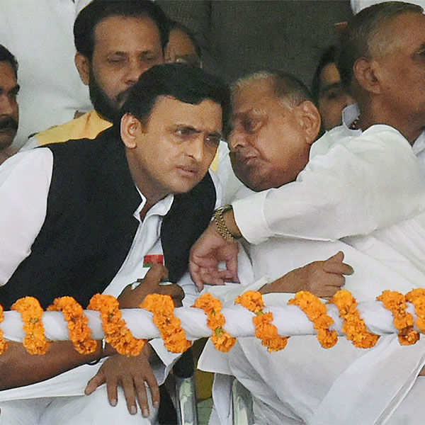 Akhilesh Yadav's rath yatra